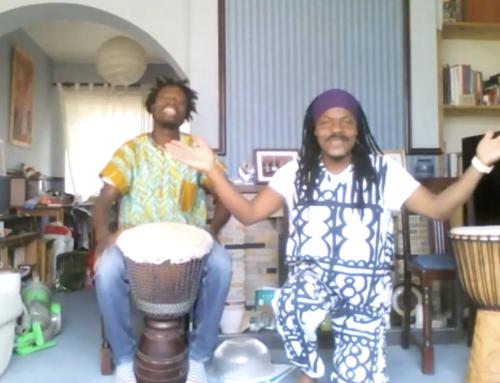 Dancing & Drumming with Adie & Thomas